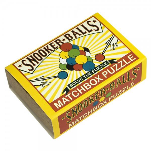 Matchbox Puzzle Snooker Balls