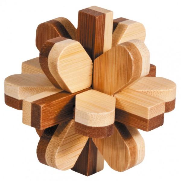 "Bambuspuzzle ""Schneeball"""