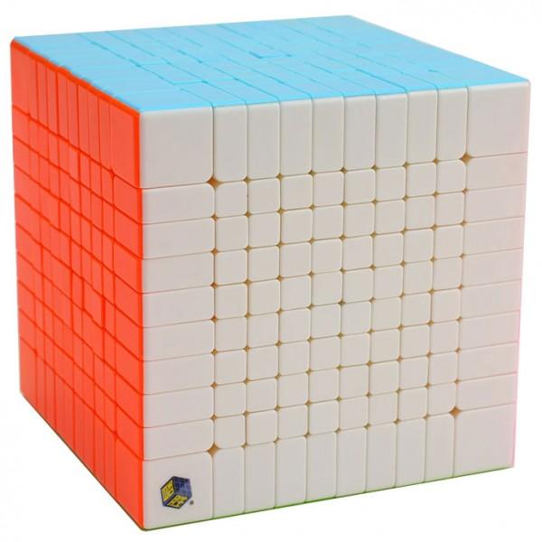 YuXin Huanglong 10x10x10 Stickerless Cube