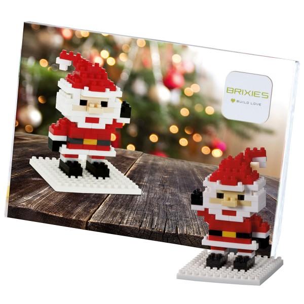 Brixies Postkarte Weihnachtsmann