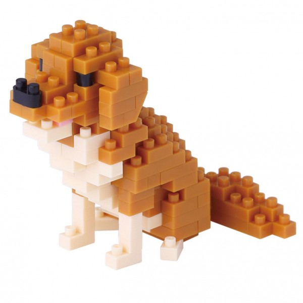 Nanoblock: Golden Retriever