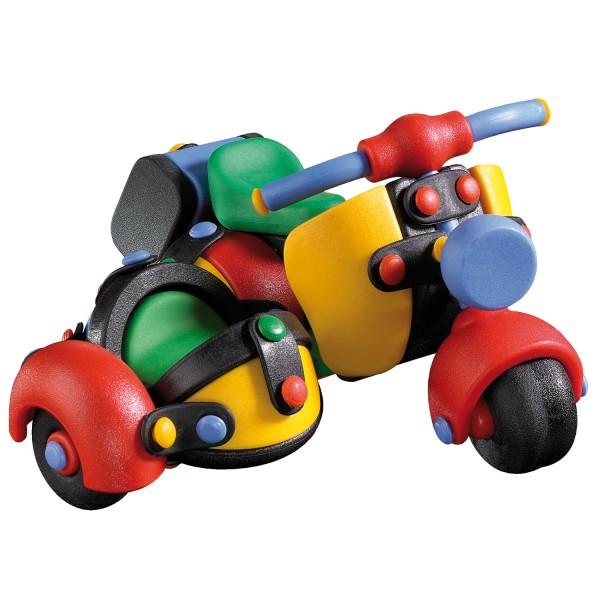 mic o mic: Motorroller mit Beiwagen