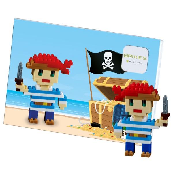 Brixies Postkarte Pirat