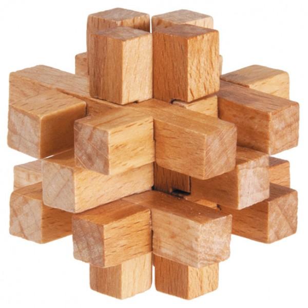 """Holzpuzzle """"Vier zu Fünf"""""""