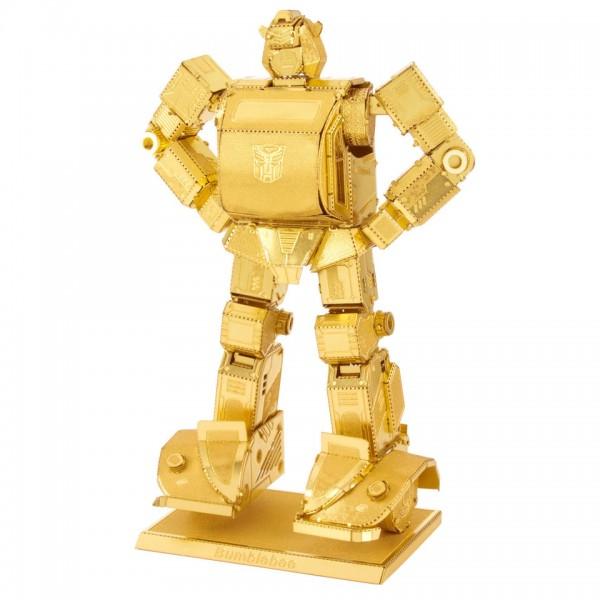Metal Earth: Transformers Bumblebee gold