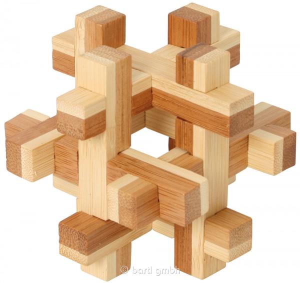 """Bambus-Puzzle """"Quaderus"""""""