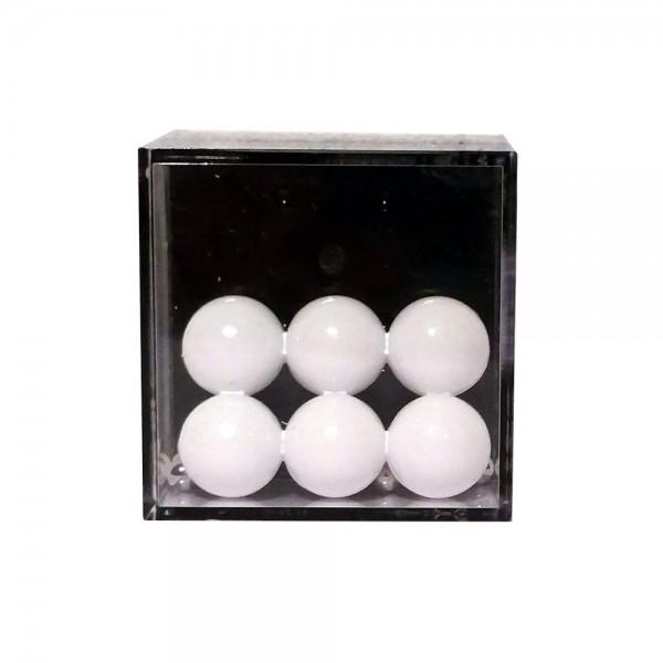 """Geduldspiel """"6 weiße Bälle"""""""