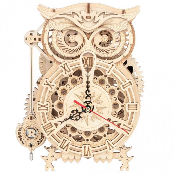 Rokr: Owl Clock