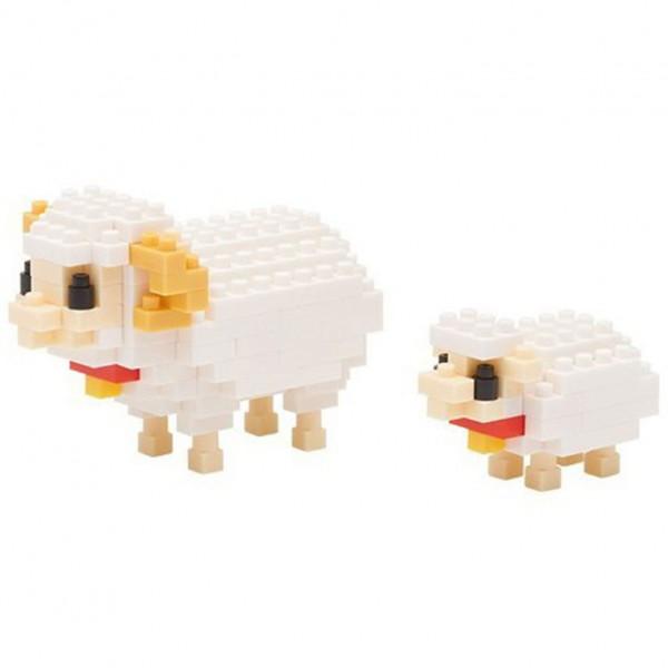Nanoblock: Mother Sheep & Baby