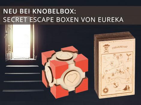 Secret Escape Boxen von Eureka