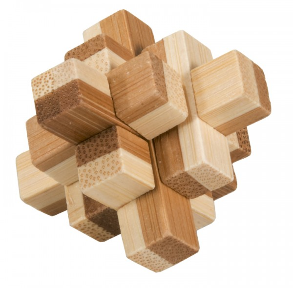 "Bambus-Puzzle in der Dose ""Block 2"""