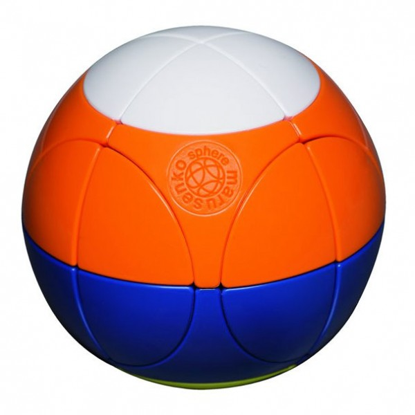 Sphere Flag Ball weiß/orange/blau/gelb (Level 3)