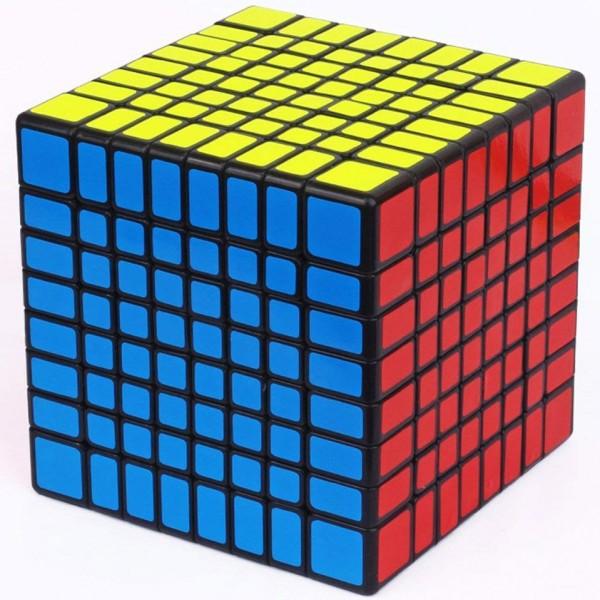 YuXin Huanglong 8x8x8 Magic Cube schwarz