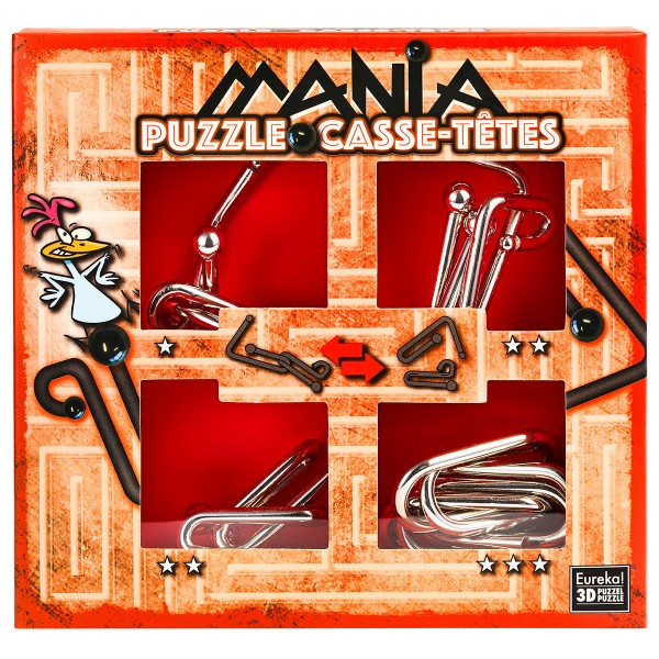 """Puzzle Mania """"Chicken"""" (rot)"""