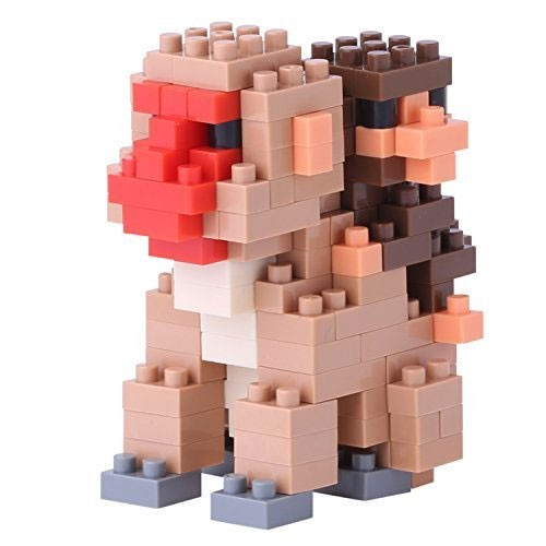 Nanoblock: Mutter & Baby Affe