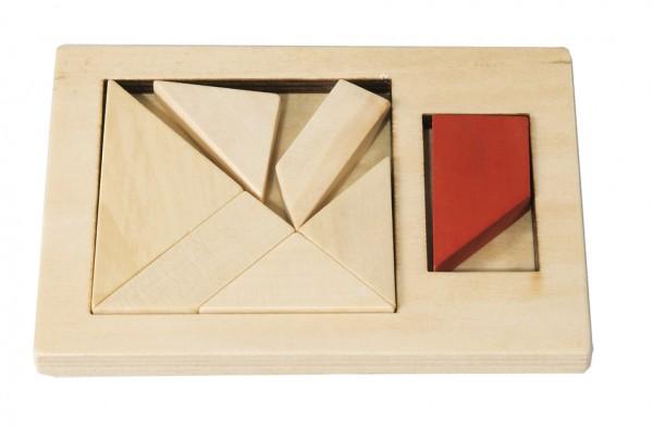 Extra Piece Viereck Tangram