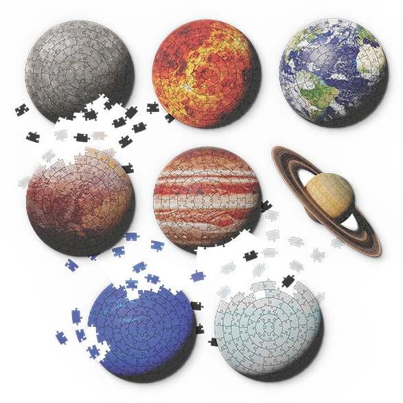 Puzzle Planeten