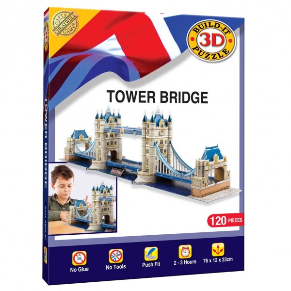 Cheatwell Build-It 3D: Tower Bridge