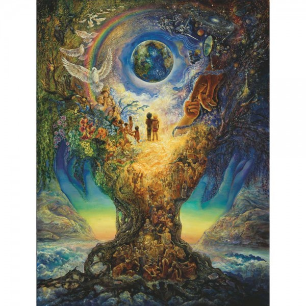 DaVici Puzzle - Millennium, Baum des Friedens