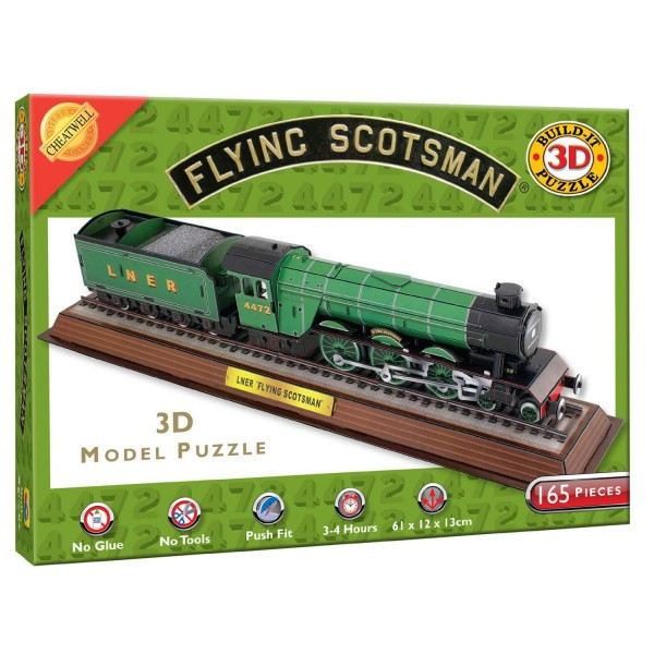 Cheatwell Build-It 3D: The Flying Scotsman