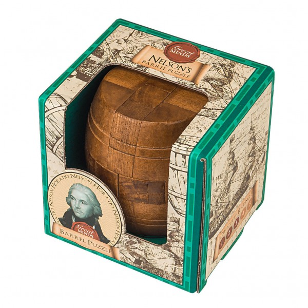 Great Minds Nelson's Barrel Puzzle
