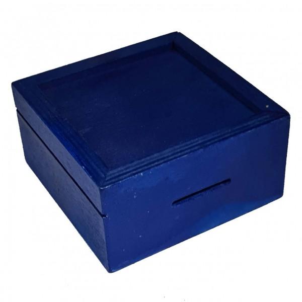 Trickspardose Blau