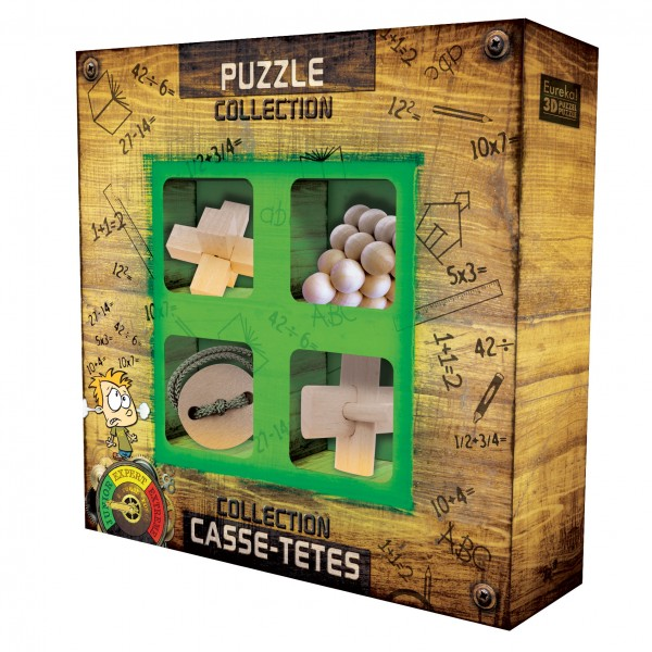 Junior Wooden Puzzles Collection