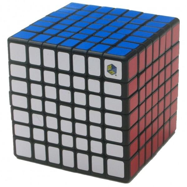 YuXin Huanglong 7x7x7 Magic Cube schwarz