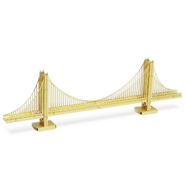 Metal Earth: Golden Gate Bridge gold