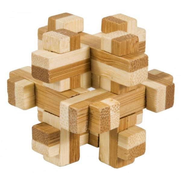 """Bambus-Puzzle in der Dose """"Konstrukt"""""""