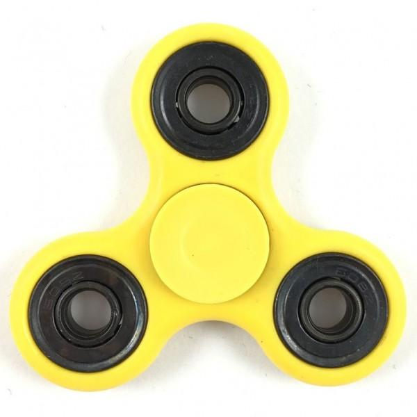 Fidget Spinner Basic Gelb
