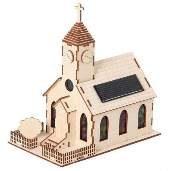 Solar Holzkirche Bausatz