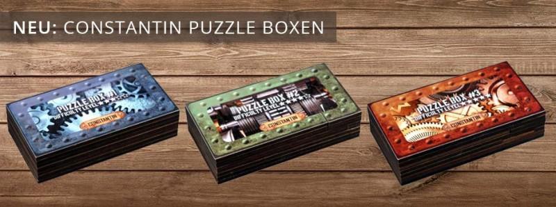 Constantin Puzzle Boxen