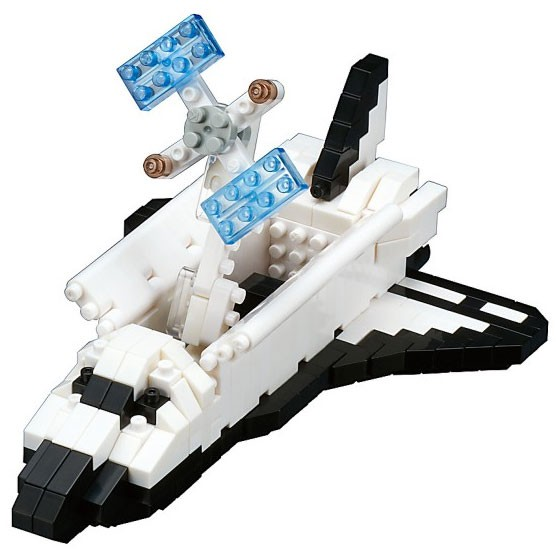 Nanoblock: Space Shuttle Orbiter