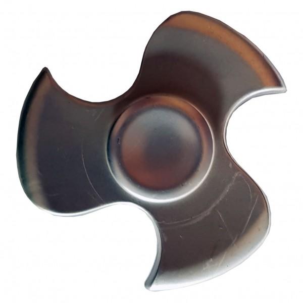 """Metall Fidget Spinner """"Schraube"""" Silber"""
