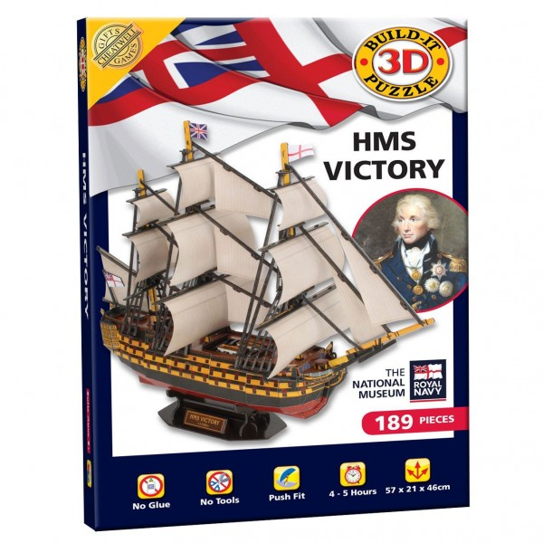 Cheatwell Build-It 3D: HMS Victory
