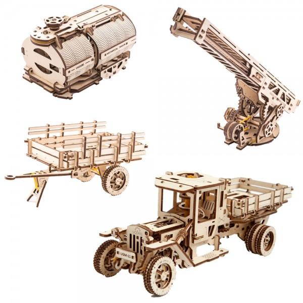 Ugears Truck Sparpaket (Truck + Erweiterungsset)