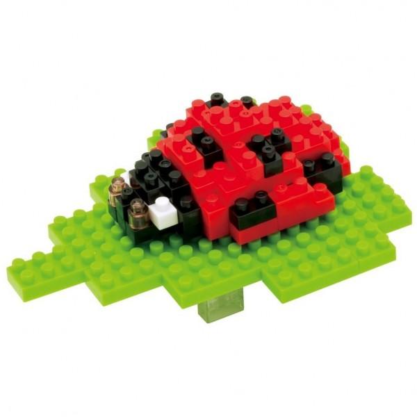 Nanoblock: Seven-spot Ladybird (Marienkäfer)