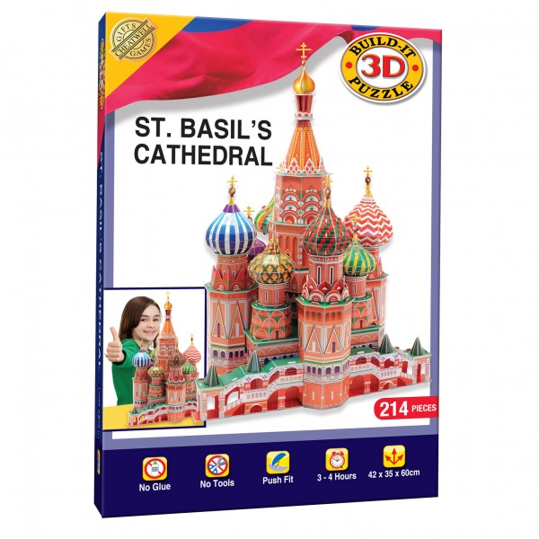 Cheatwell Build-It 3D: St. Basil's Cathedral