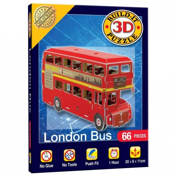 Cheatwell Build-It 3D Mini: London Bus