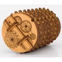 Kryptos - Cryptex Bausatz aus Holz