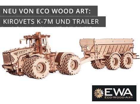 Eco Wood Art Kirovets K-7M