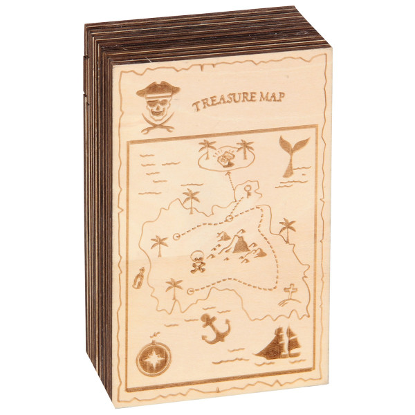 Trickkiste Caribbean Secret Escape Box Treasure Map