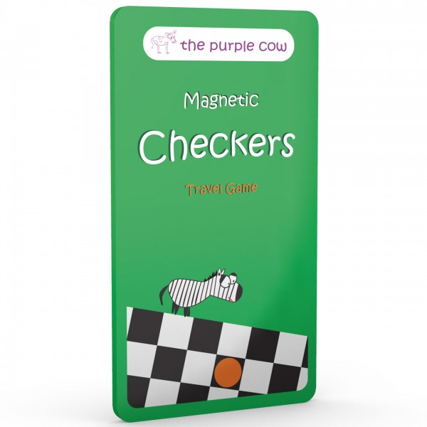 Magnetic Travel Game Checkers