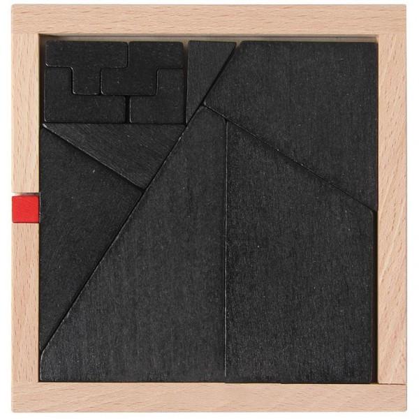 Der kleine rote Würfel - Packpuzzle