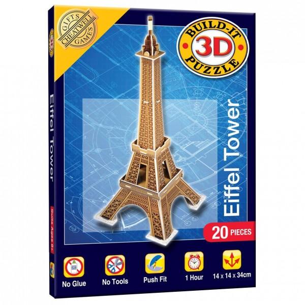 Cheatwell Build-It 3D Mini: Eifelturm