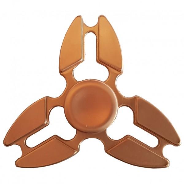 "Metall FIdget Spinner ""Tri Star"" Rose Gold"