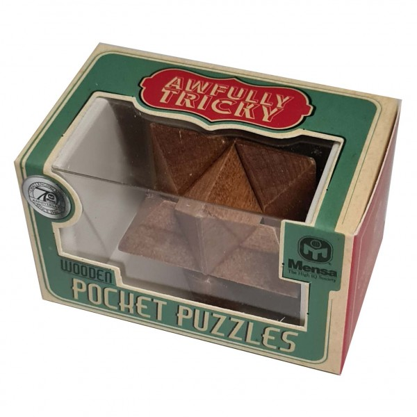 Wooden Pocket Puzzle: Stern
