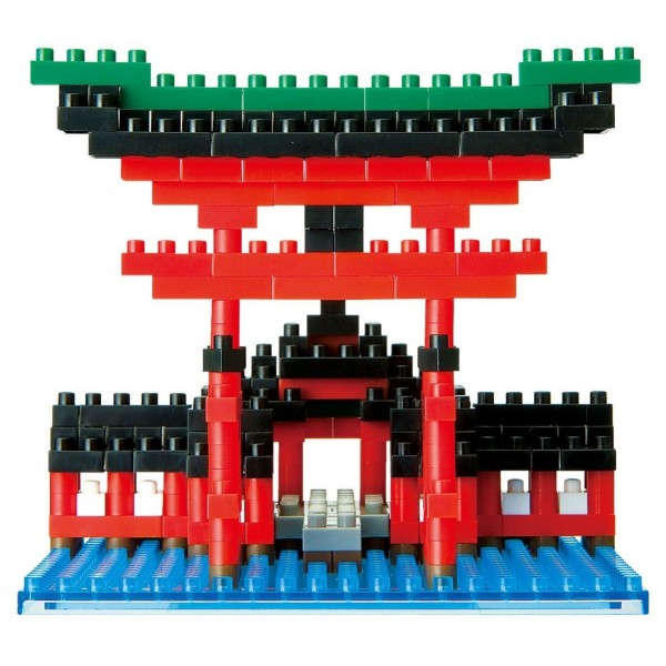 Nanoblock: Big Torii of Itsukushima Shrine