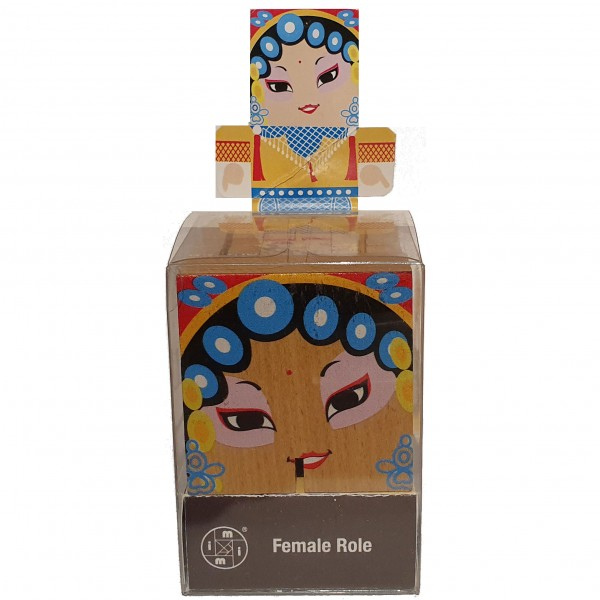 "Peking Opera Make-Ups ""Female Role"""